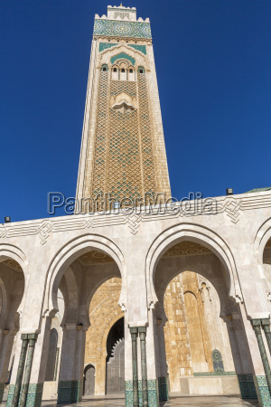 meczet hassana ii w casablance maroko