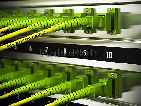 infrastruktura sieciowa swiatlowody polaczenia