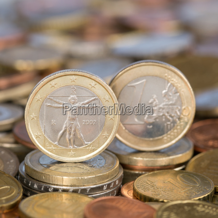 1 euro coin from italy