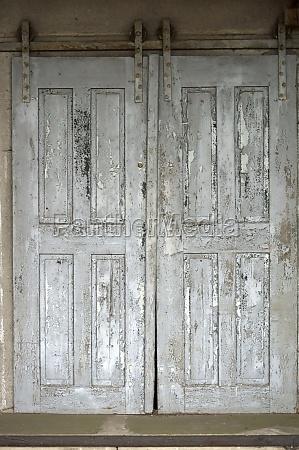 stare drzwi przesuwne