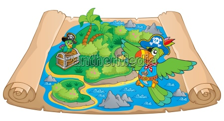 treasure map theme image 6