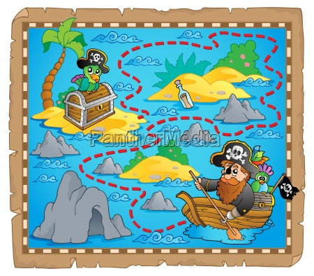 treasure map theme image 7