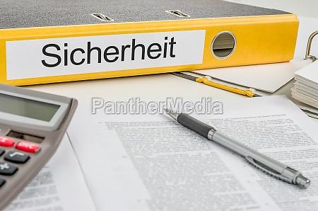 folder plikow z zabezpieczeniami podpisu