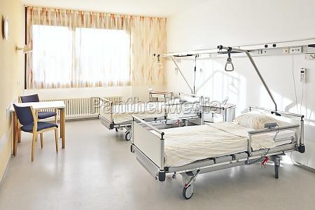 szpital podwojne lozko