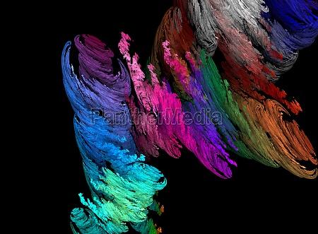 sztuka kolor przeplyw splyw nauka obraz