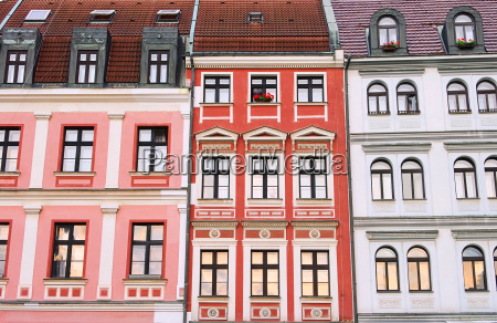miasto grod town fasada czechy