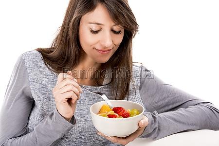 reszta z salatka owocowa