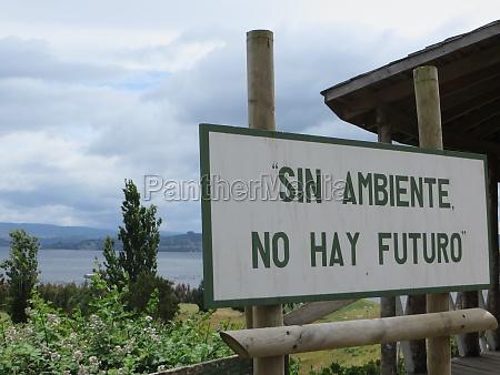 sin ambiente no hay futuro