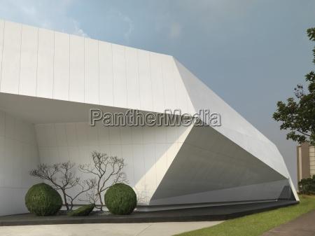 szczegolowo nowoczesna architektura