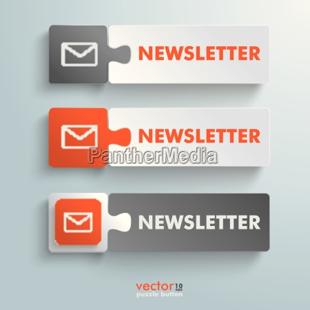 button puzzle newsletter