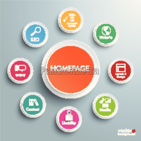 homepage infographic