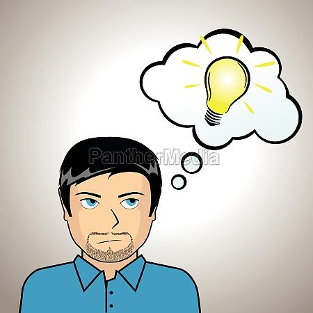 ilustracja idea
