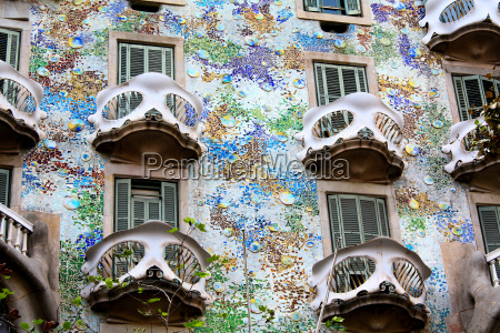 historyczny hiszpania gaudi barcelona