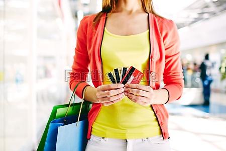 klient za pomoca kart plastikowych