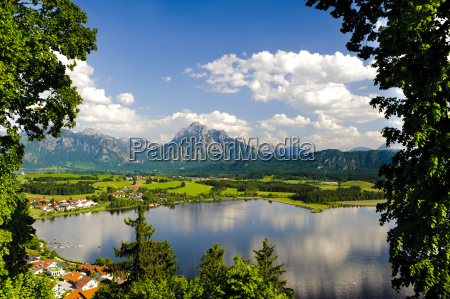 panorama landscape at the splendid anytime
