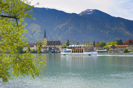 rottach egern on the tegernsee in