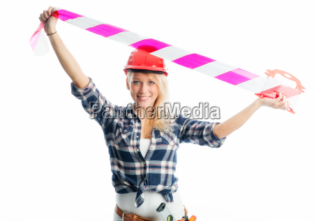 woman with flutter band
