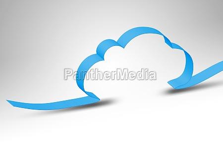niebieski oblok chmura chmurka chmurki edv
