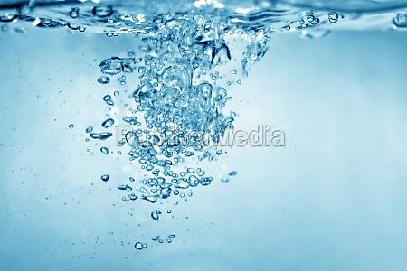 tlo pecherzykow wody