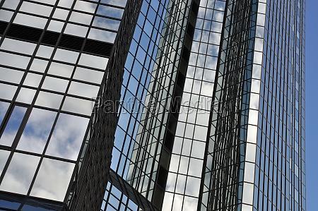 przeszklona, fasada, we, frankfurcie - 11967210