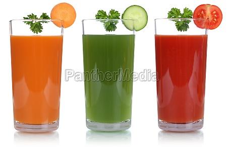 sok warzywny z sokiem marchewkowym i