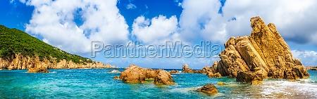 ocean linii brzegowej sceniczny panoramiczny widok