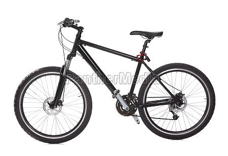 czarny rower gorski