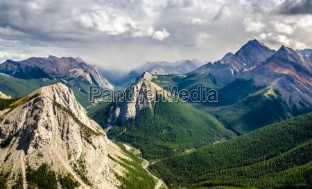 pasmo gorskie widok krajobrazu w kanadzie