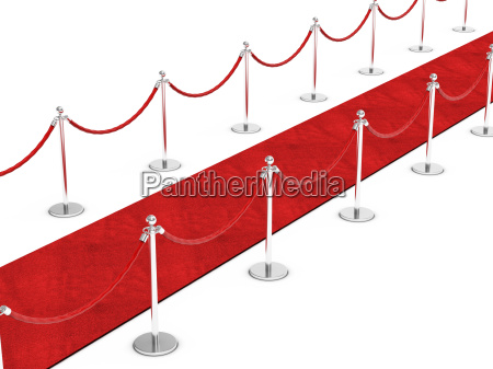 czerwony dywan