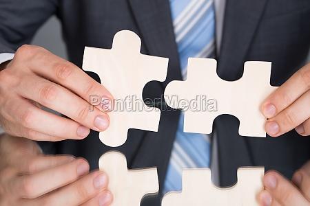 rece laczace pices puzzle