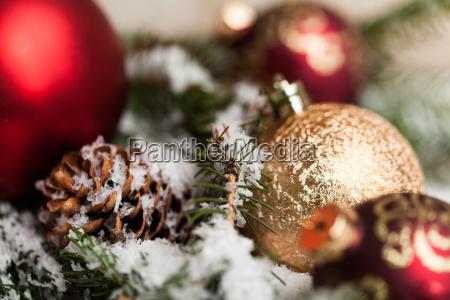 zima zimowy adwent dekoracja wystawnie christbaumschmuck