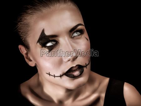 kobieta womane baba murzynka czern dark