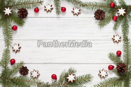 weihnachtlicher ramki