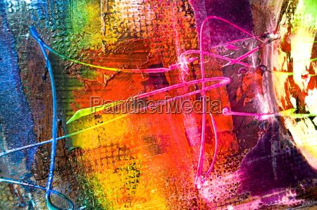 abstrakcyjna struktura malowania