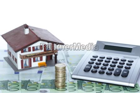 house money and calculator