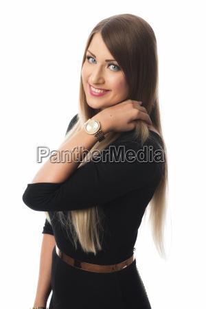 geschminkte woman portrait