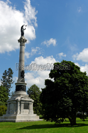 podrozowanie historyczny historia pomnik ameykanski park