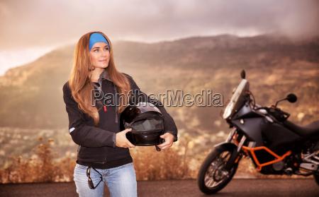 piekna dziewczyna rowerzyste