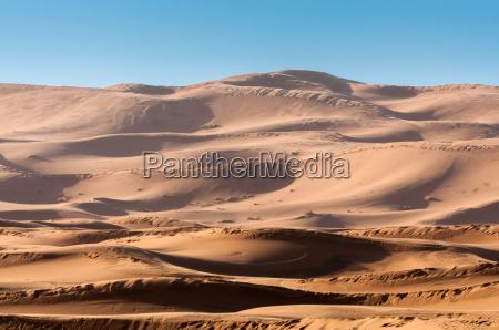 pustynia afryka na zewnatrz wydma maroko