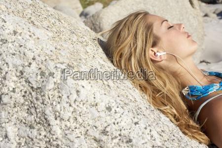 blond nastoletnie dziewczyny 17 19 relaks