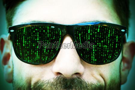 oczy matrix