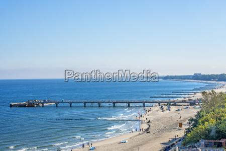 morze baltyckie plaza kohlberg polska panorama