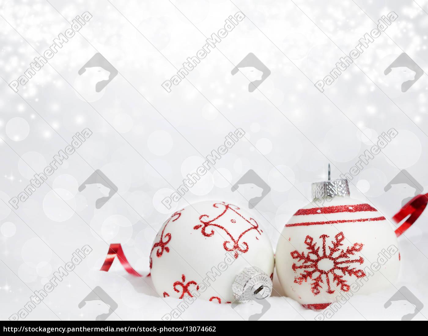 boże, narodzenie, z, czerwonymi, dekoracjami - 13074662