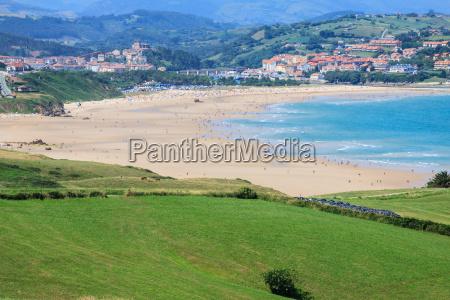 beach of san vicente de la