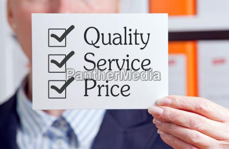 jakosc service cena