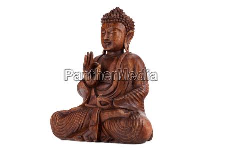 statula budda medytacja medytacje siedziec krawiec