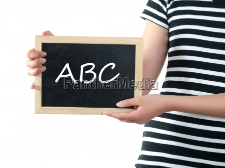 abc tablica tablica szkoly blackboard