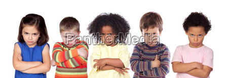 piec zly dzieci