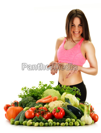 rozne surowce organiczne warzywa samodzielnie na