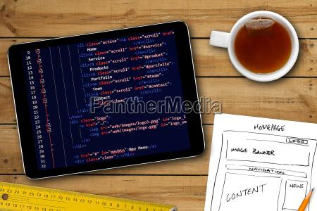 strona karkasy szkic i kod programu
